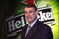 Генеральный директор компании Heineken Жана-Франсуа Ван Боксмиэ