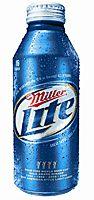 Miller Light в бутылке
