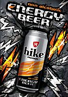 """hike premium non-alcoholic energy beer"""