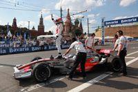 Гонки Bavaria Moscow City Racing под стенами Кремля
