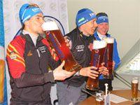 Erdinger поддержал лучших биатлонистов мира