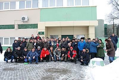 Коллекционеры пивной атрибутики на заводе Ярпиво