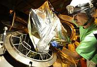 Добавление хмеля на заводе Кирин