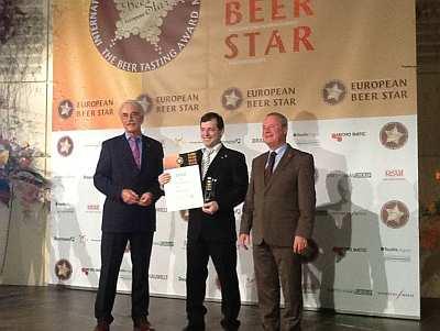 Михаил Ершов на European Beer Star