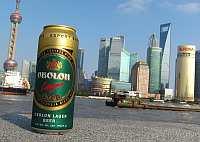 Пиво Оболонь в Китае