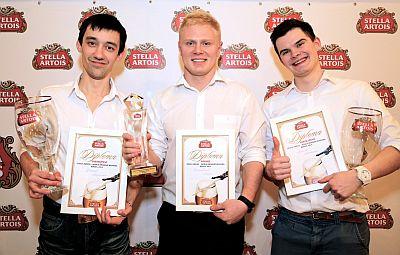 В Москве состоялся финал национального этапа конкурса Stella Artois World Draught Masters 2014 («Мировые мастера по наливу Stella Artois 2014»). Лучшие бармены страны соревновались в мастерстве ритуала «9 шагов налива» – особой церемонии налива Stella Artois.