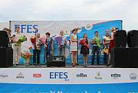 праздничное мероприятие по случаю пятилетнего юбилея завода Efes Rus