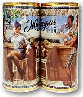 новая банка из коллекционной серии пива «Жигули Барное»,