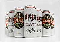 группа Ария и Universal Music представляют пиво FAXE Premium в специальной банке.