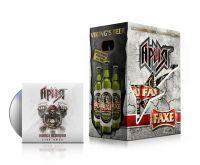 """Оригинальная упаковка пива и диск с концертом """"Ария"""" в подарок"""