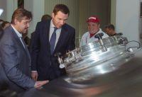 Заместитель Председателя Правительства Московской области посетил Московскую Пивоваренную Компанию