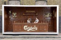 Шоколадный бар Carlsberg