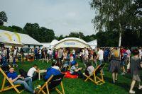 Зоны Hoegaarden 0.0% стали «центром притяжения» гостей на питерских «гастролях» фестиваля «О, да! Еда!»