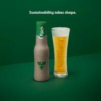 Carlsberg Group представила дизайн новой биоразлагаемой бутылки