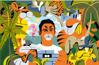Пиво Tiger и WWF приглашают людей со всего мира помочь борьбе с нелегальной торговлей тиграми