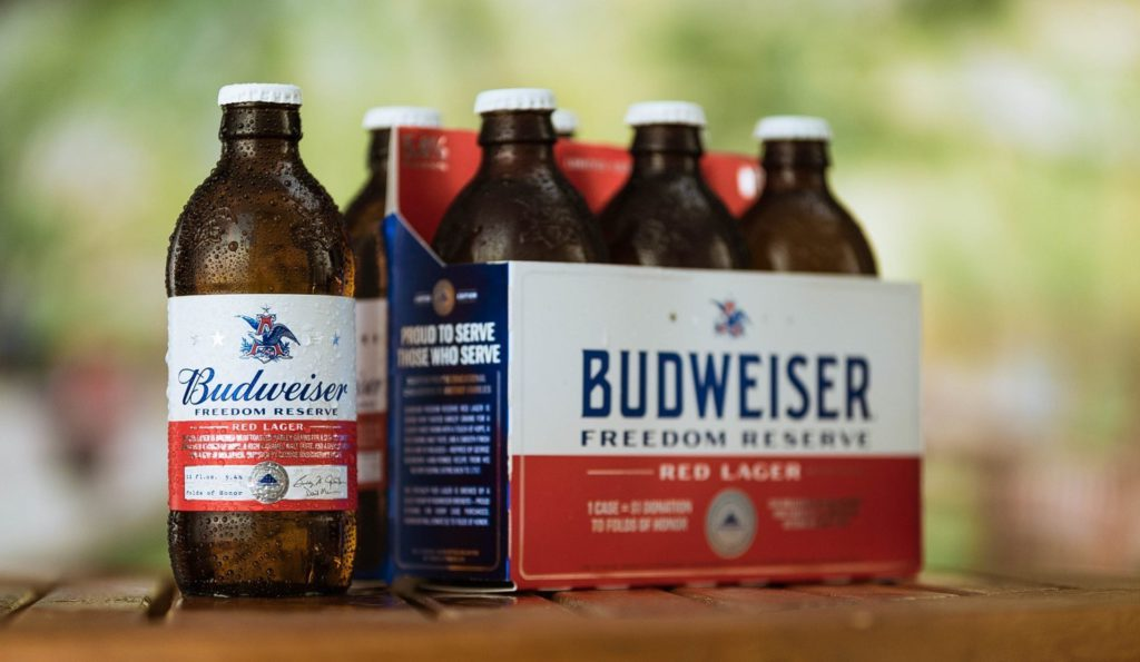 Budweiser Freedom Reserve Red Lager