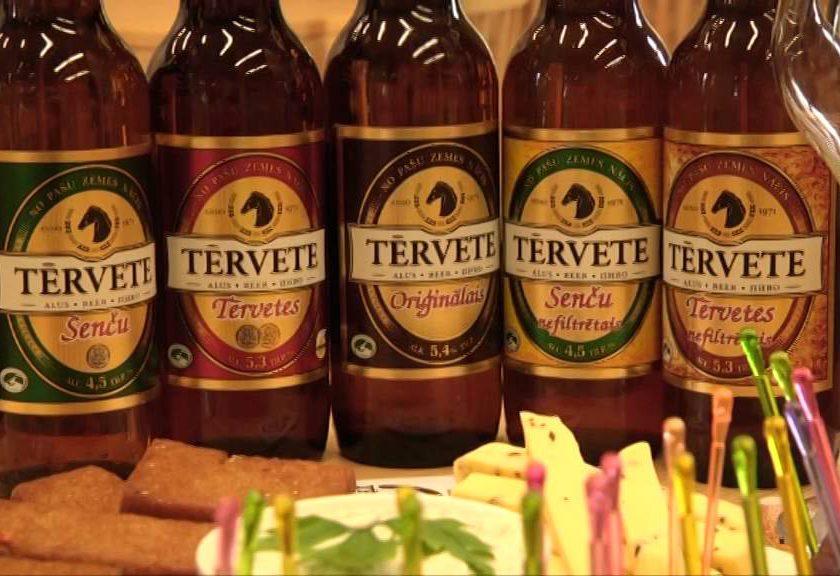 Латвийское пиво