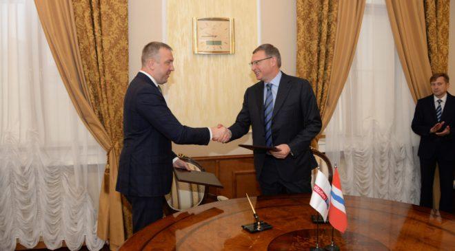 Правительство Омской области и AB InBev Efes подписали соглашение о сотрудничестве в области развития сельского хозяйства в регионе