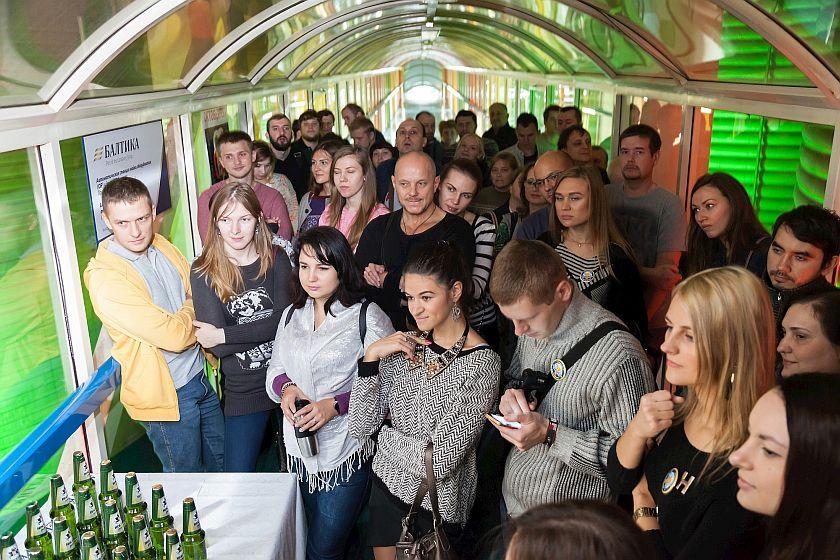 Почти 747 000 человек посетили заводы «Балтики» за 20 лет