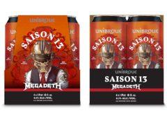 Megadeth сварили второе пиво совместно с пивоварней Unibroue
