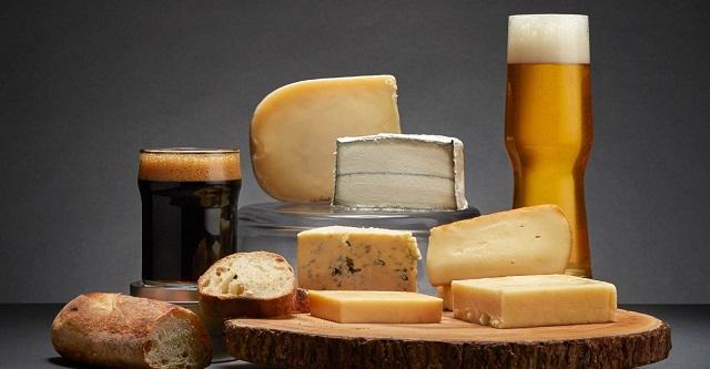 Пиво и сыр