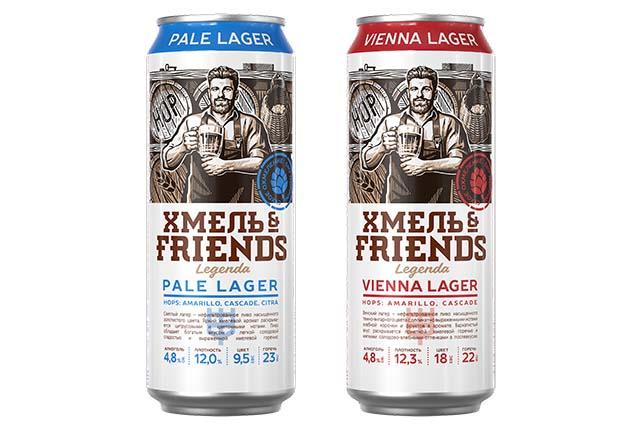 Пиво Хмель & Friends