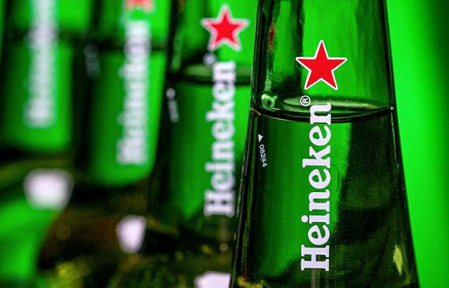 Heineken снижает расходы, поскольку продажи пива снизились на 14 процентов