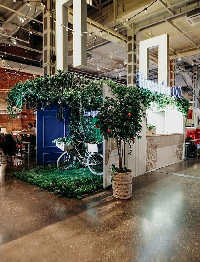 AB InBev Efes запустила безалкогольный бар Hoegaarden 0.0
