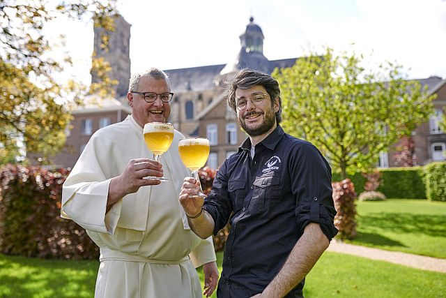 Отец Карел Стаутемас, викарий и пивовар аббатства, Аббатство Гримберге
