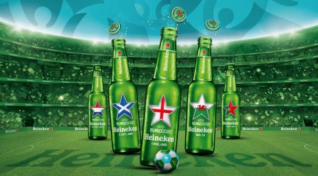 Heineken запускает ограниченную серию бутылок для Евро-2021