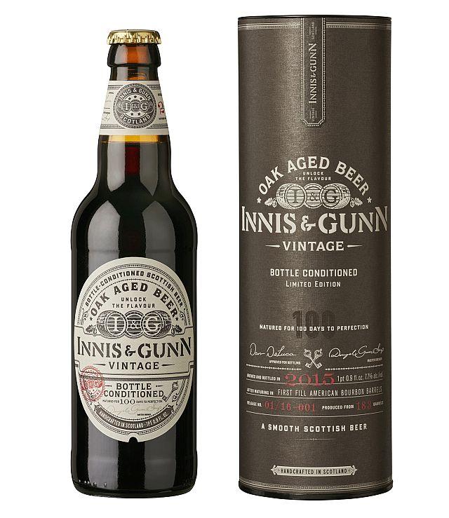 Шотландская пивоварня Innis & Gunn выпустила винтажное пиво