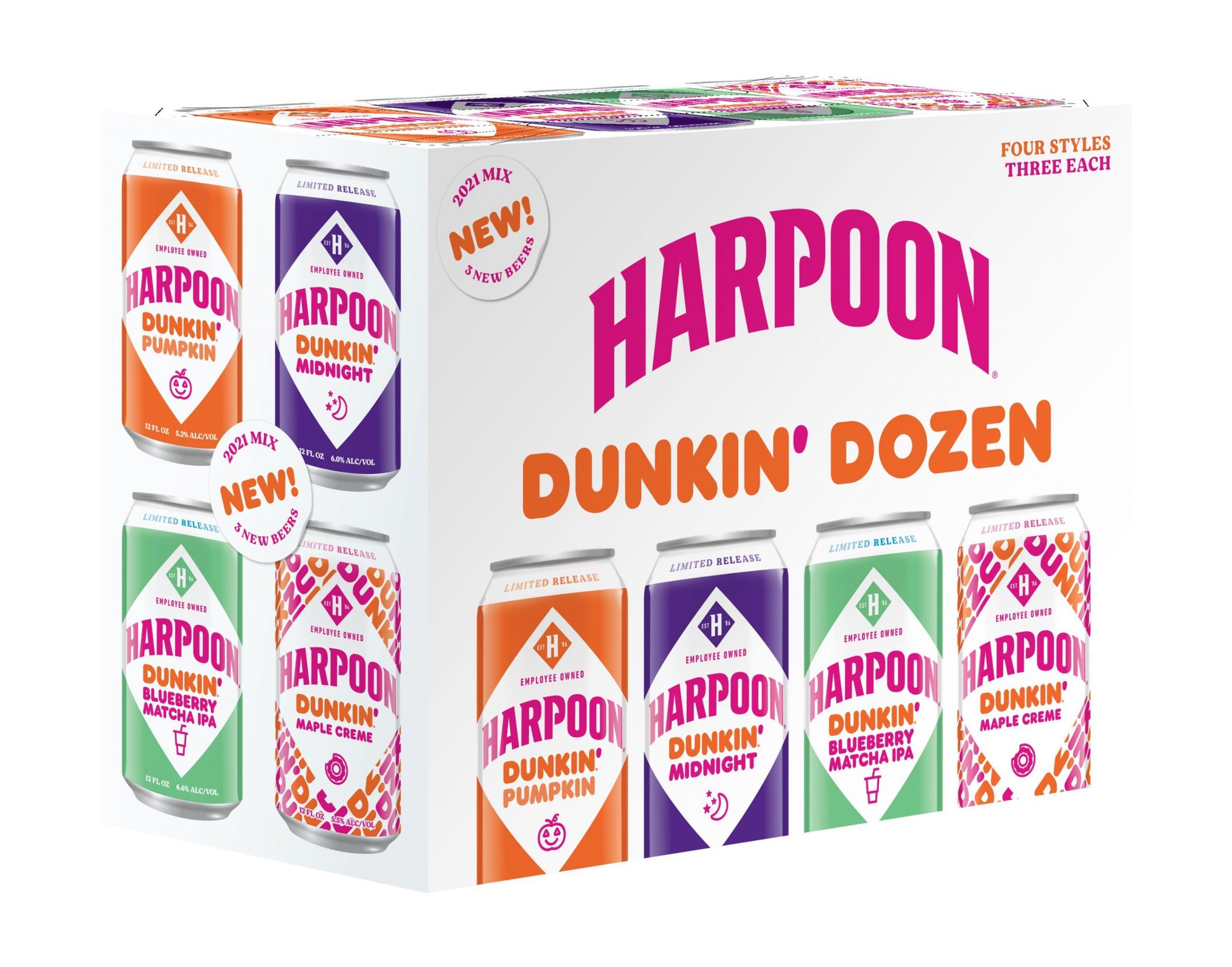 Пивоварня Harpoon Brewery и Dunkin сварили пончиковое пиво