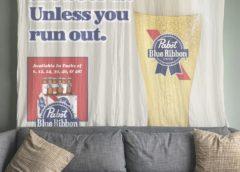 Pabst Blue Ribbon будет платить за размещение рекламы дома